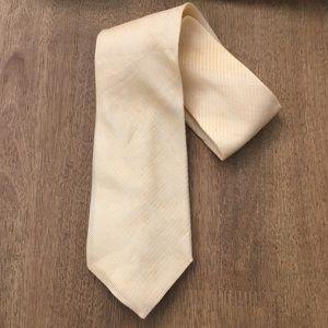 New Banana Republic Men's Yellow Silk Tie